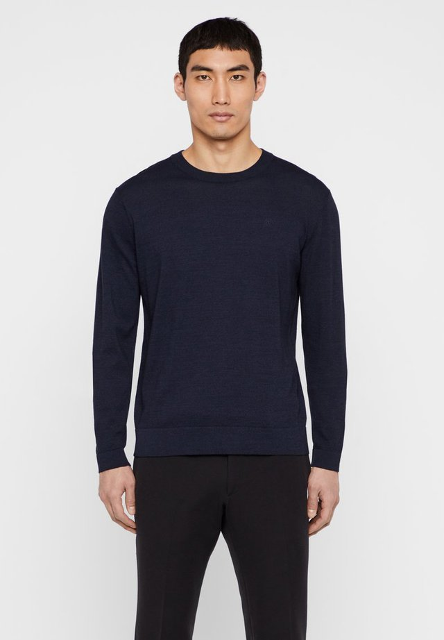 NIKLAS - Strikpullover /Striktrøjer - blue
