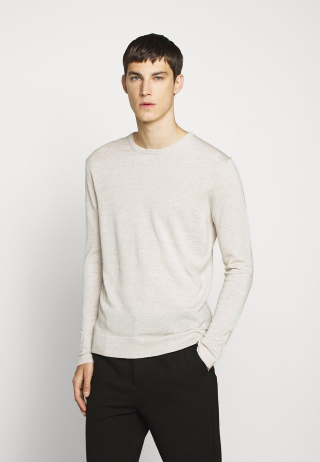 PERFECT - Strickpullover - cloud grey