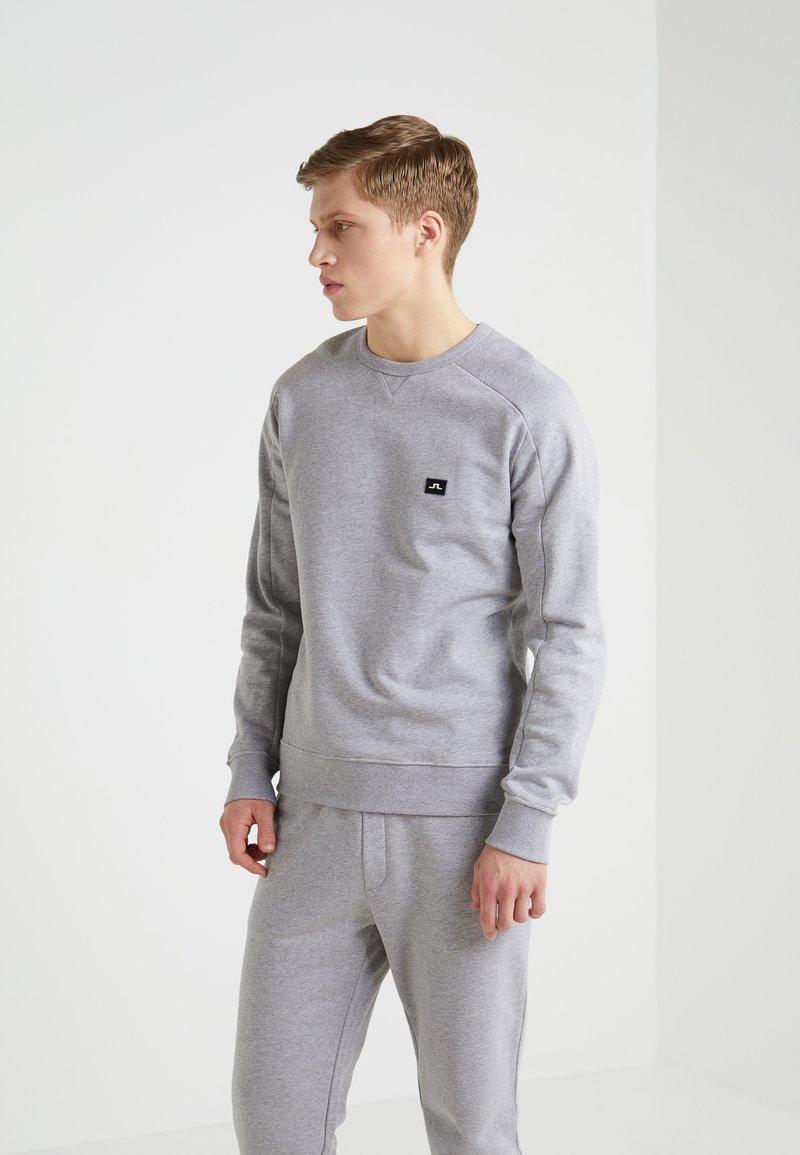 J.LINDEBERG - THROW NECK  - Sweatshirt - light grey melange