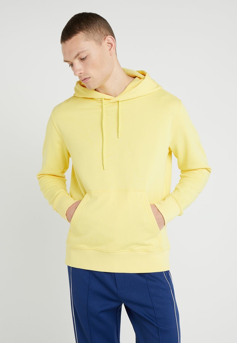 J.LINDEBERG - HURL HOOD RING LOOP - Hoodie - butter yellow
