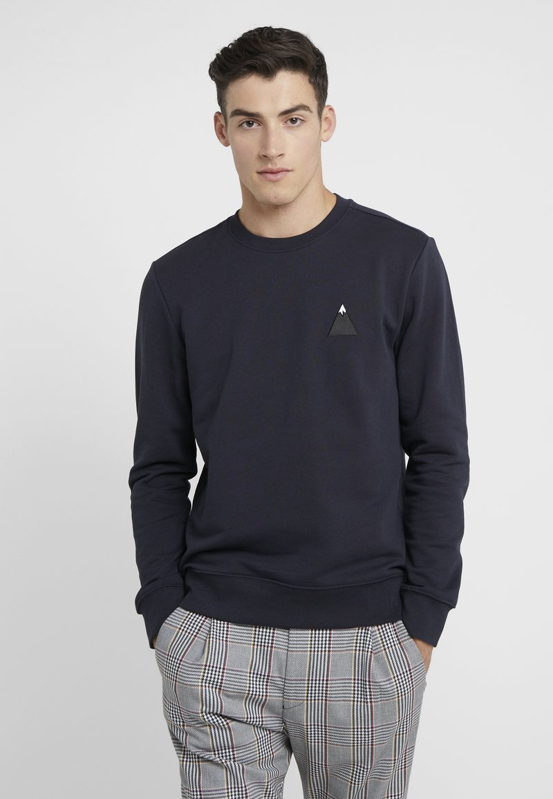 J.LINDEBERG - THROW C-NECK - Sweatshirt - navy