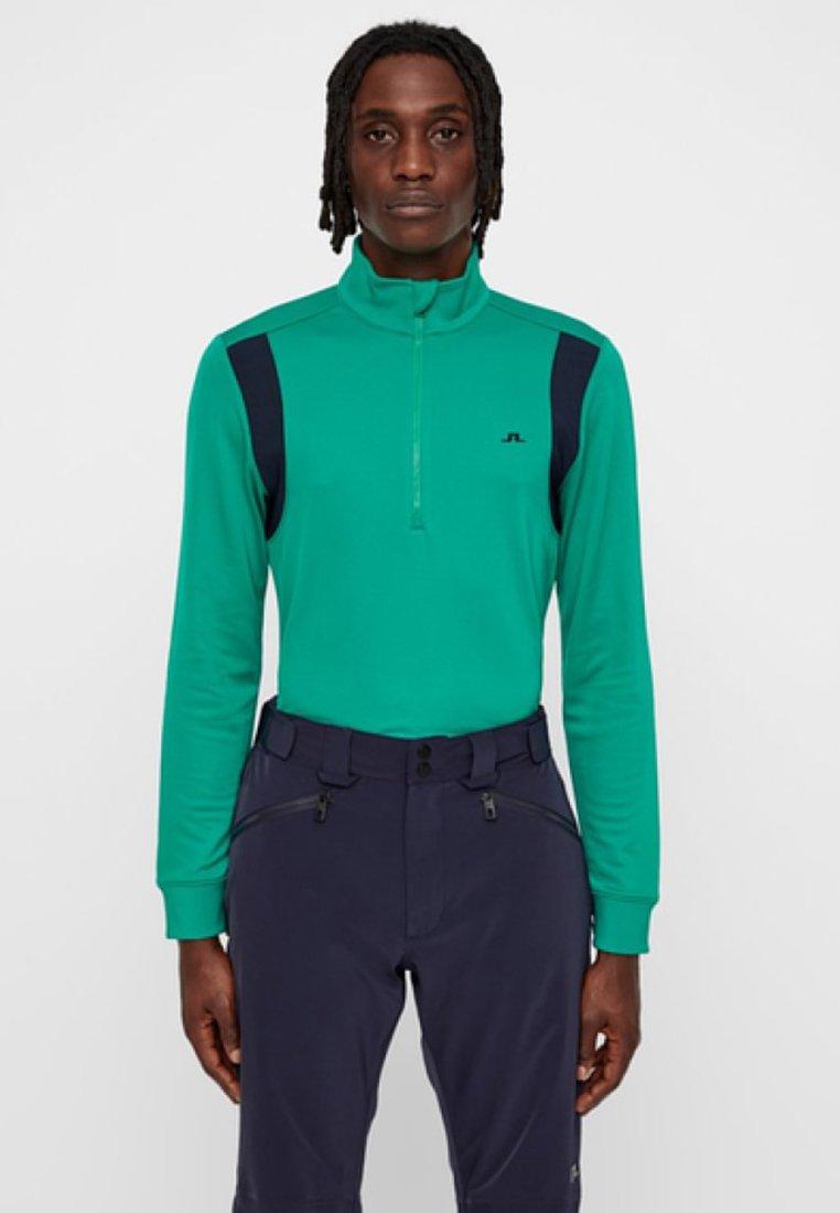 J.LINDEBERG - FOX HALF - Long sleeved top - golf green