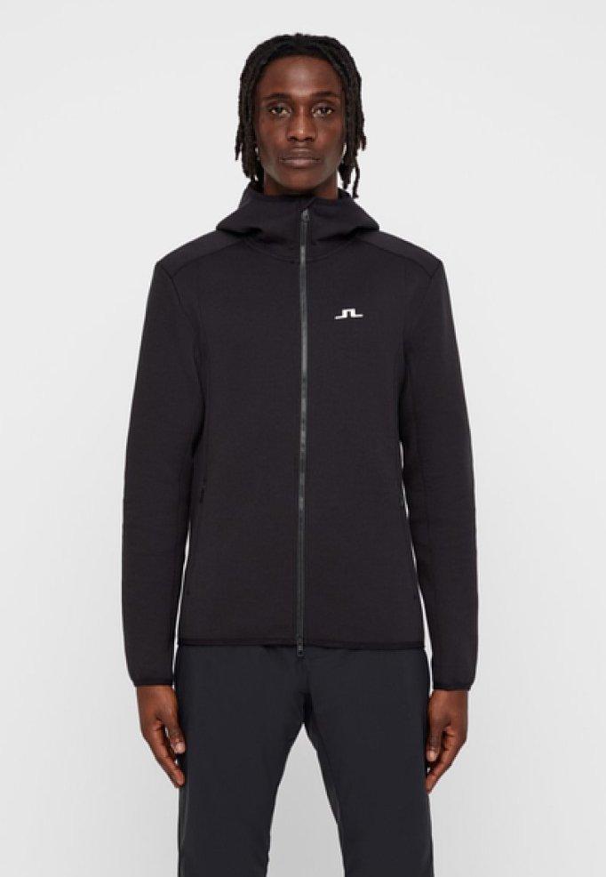 J.LINDEBERG - DOUGLAS - Zip-up hoodie - black