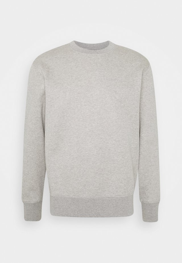 CHIP CREW NECK  - Sweatshirt - stone grey melange