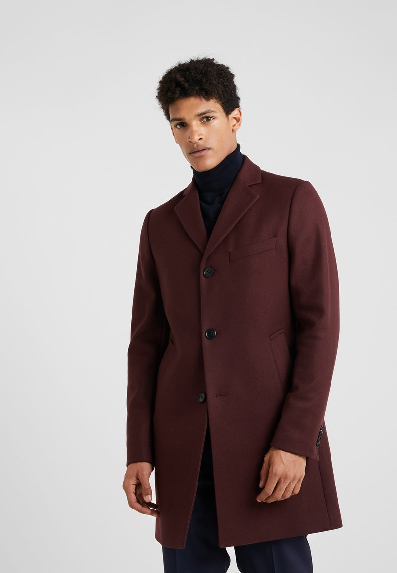 J.LINDEBERG - WOLGER COMPACT MELTON - Short coat - dark mocca