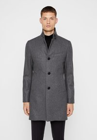 J.LINDEBERG - HOLGER COMPACT MELTON - Classic coat - grey melange - 0