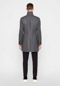 J.LINDEBERG - HOLGER COMPACT MELTON - Classic coat - grey melange - 2