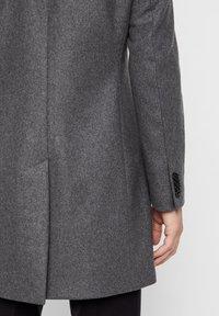 J.LINDEBERG - HOLGER COMPACT MELTON - Classic coat - grey melange - 4
