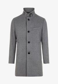 J.LINDEBERG - HOLGER COMPACT MELTON - Classic coat - grey melange - 6