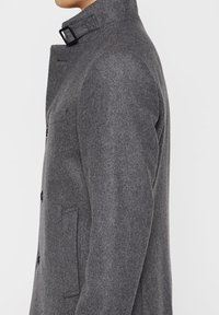 J.LINDEBERG - HOLGER COMPACT MELTON - Classic coat - grey melange - 5