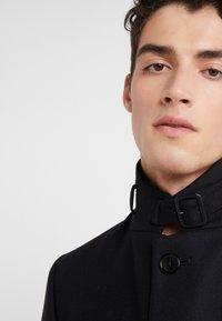 J.LINDEBERG - HOLGER COMPACT MELTON - Classic coat - black - 6