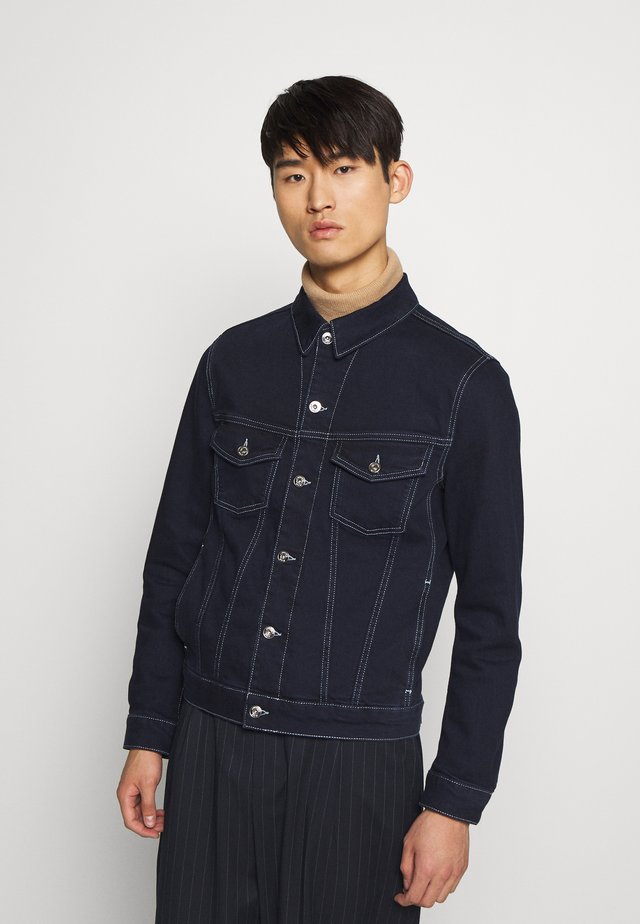 RAN - Denim jacket - mid blue