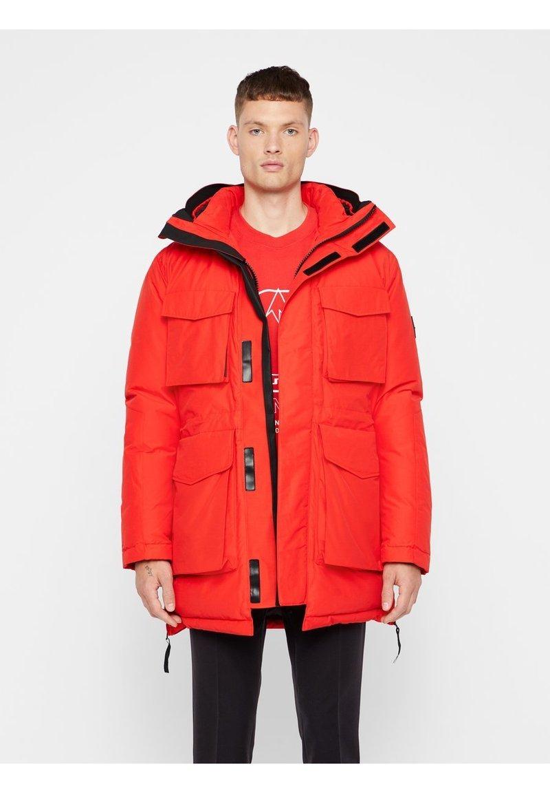 J.LINDEBERG - BON - Down coat - racing red