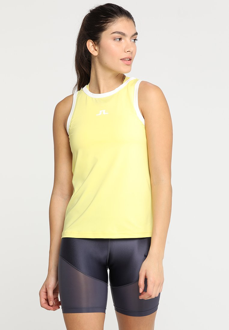 J.LINDEBERG - ALLY - Top - butter yellow