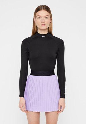 SOFT COMPRESSION - Long sleeved top - black