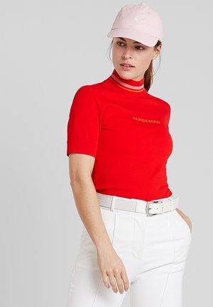 SELMA - Camiseta estampada - racing red