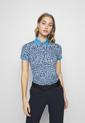 TOUR TECH PRINT - T-shirt de sport - blue leopard