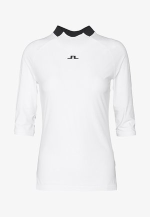 SANA LIGHT COMPRESSION - Sports shirt - white