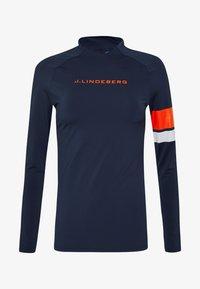 J.LINDEBERG - SHAY LIGHT COMPRESSION - Sportshirt - navy - 3