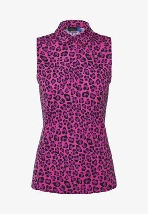 DENA PRINT - Funkční triko - pink