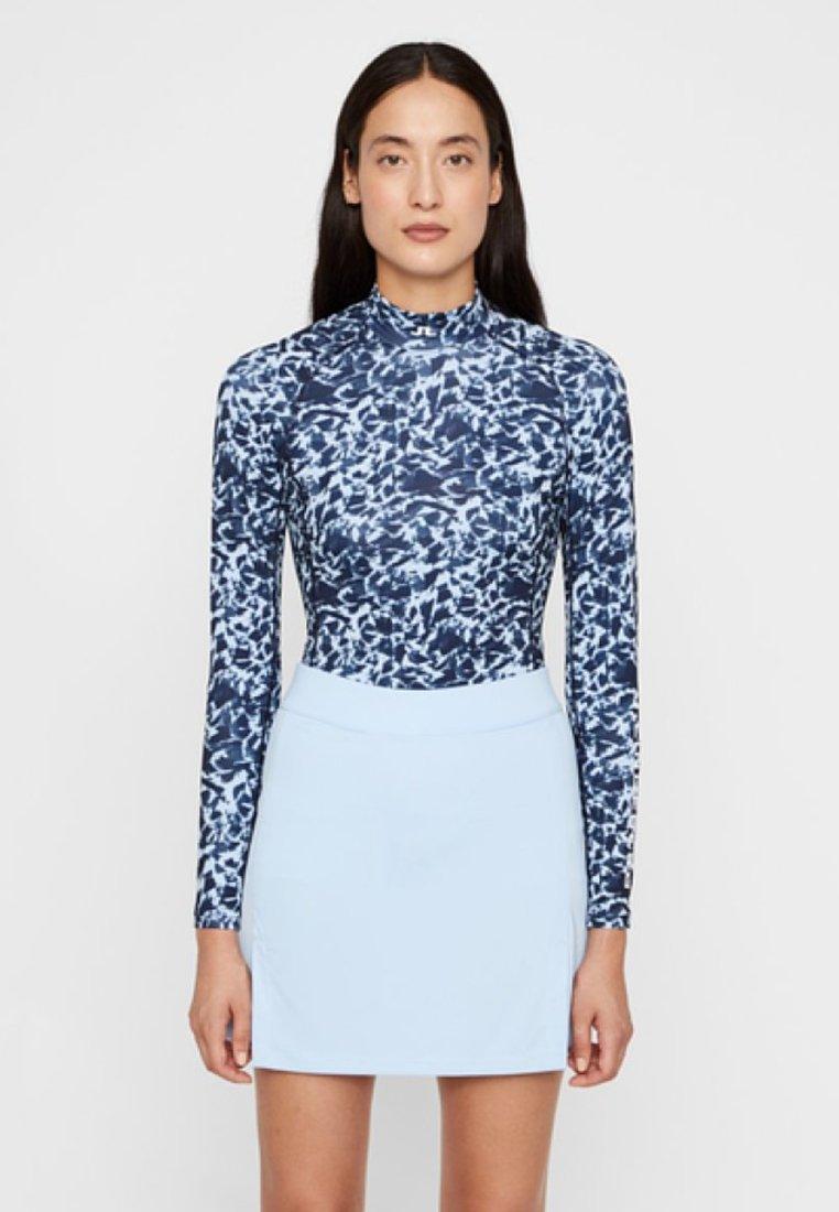 J.LINDEBERG - T-shirt à manches longues - blue