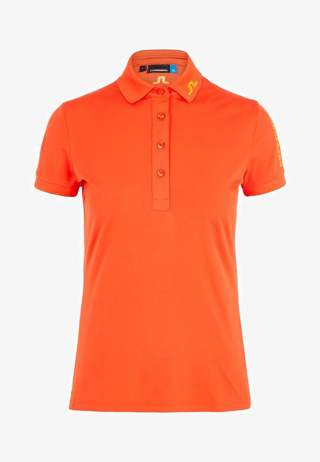 TOUR TECH - Polo shirt - tomato red