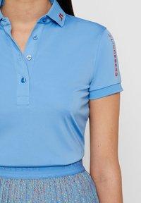 J.LINDEBERG - TOUR TECH - Polo shirt - lake blue - 4