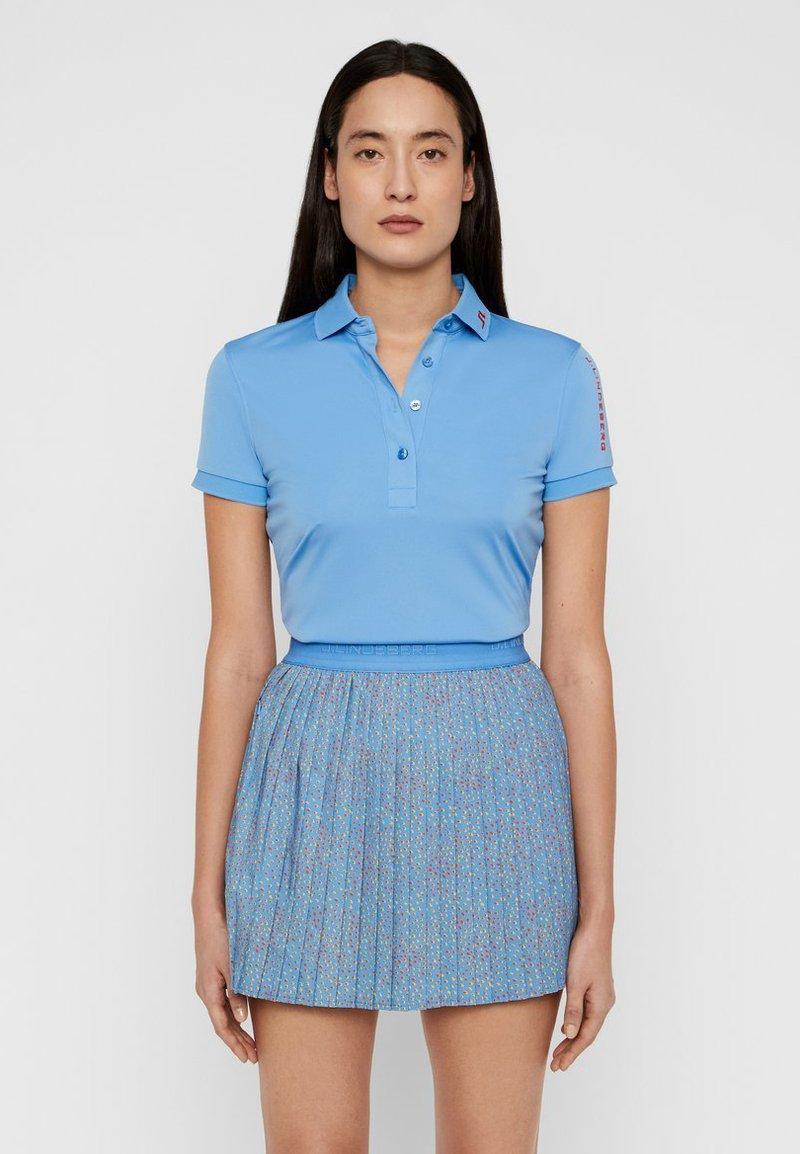 J.LINDEBERG - TOUR TECH - Polo shirt - lake blue