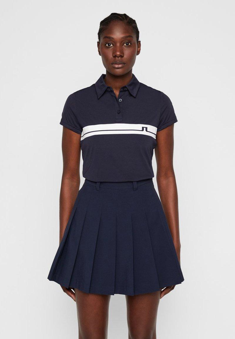 J.LINDEBERG - POLOSHIRT ORLA - Polo shirt - jl navy