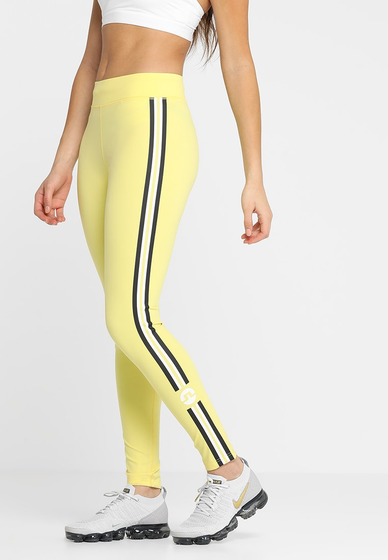 J.LINDEBERG - ELAINA COMPRESSION  - Leggings - butter yellow