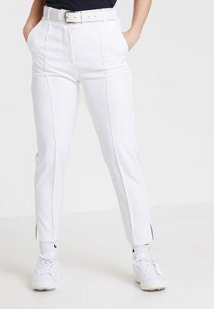 GIO PANT - Pantalones - white