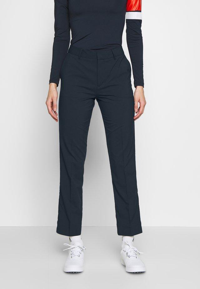 KAIA  - Spodnie materiałowe - navy