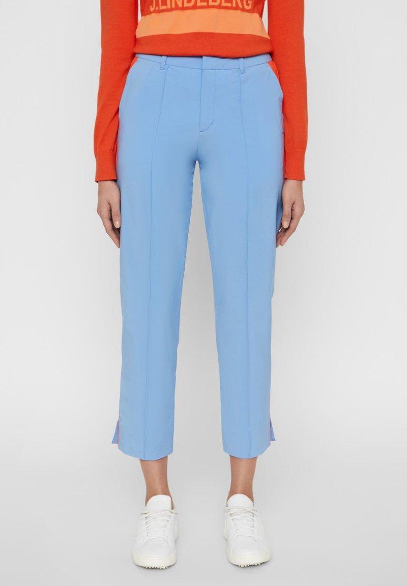 J.LINDEBERG - GRETHA - Trousers - lake blue