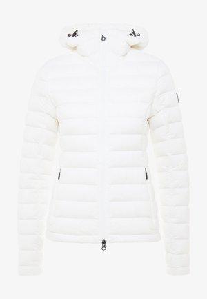 EASE HOODED LINER - Ski jas - cloud white