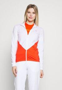 J.LINDEBERG - LIZA LIGHT MID - Training jacket - white - 0