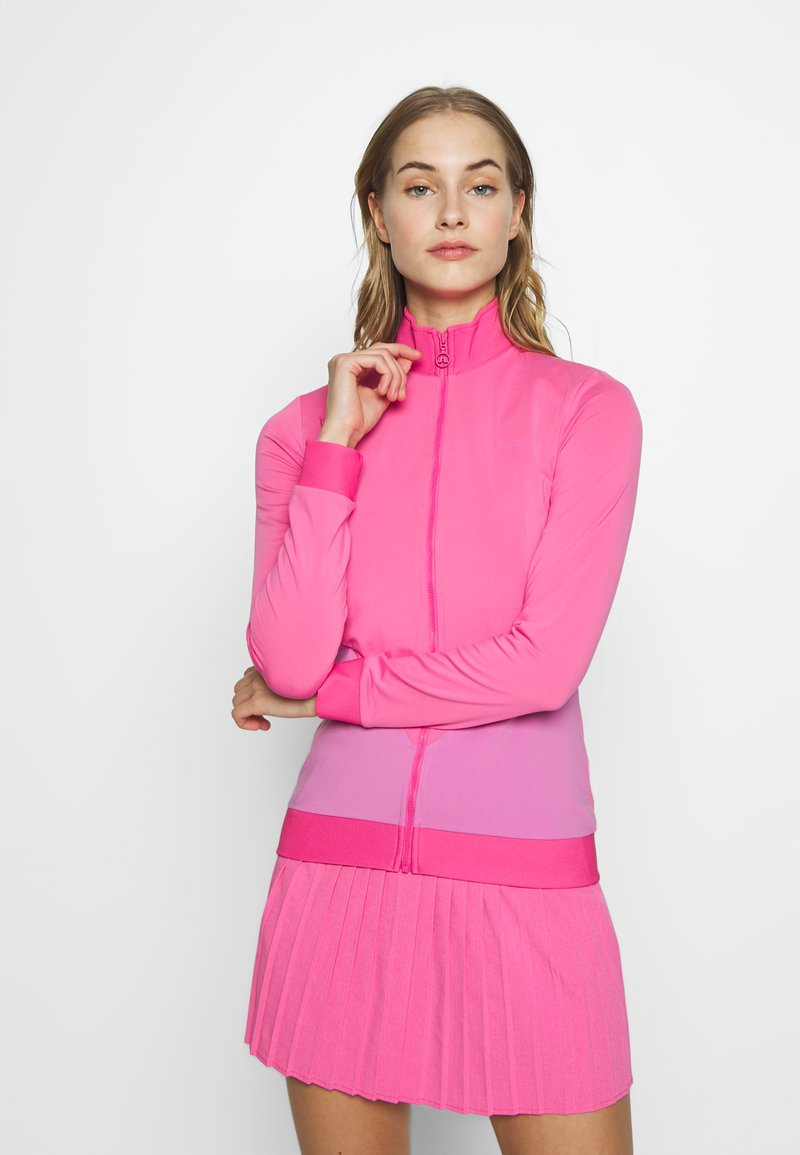 J.LINDEBERG - LIZA LIGHT MID - Treningsjakke - pop pink
