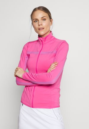 JANICE LIGHT MID - Kurtka z polaru - pop pink