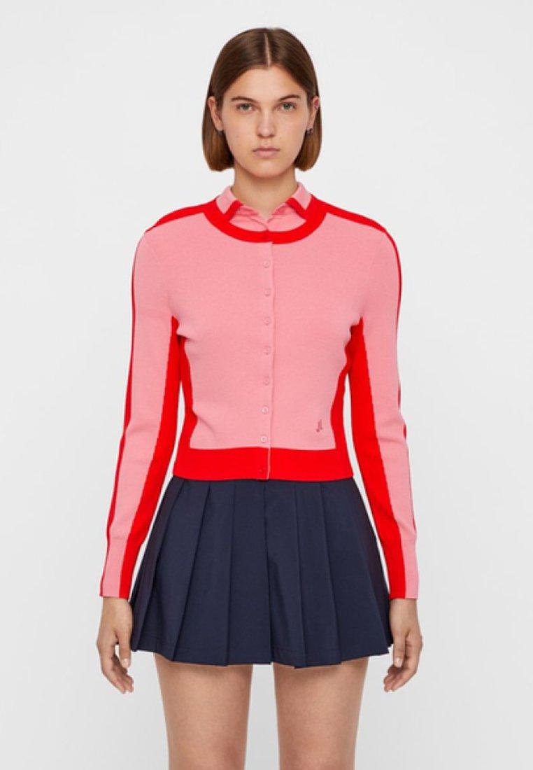 J.LINDEBERG - MELODY - Zip-up hoodie - pink