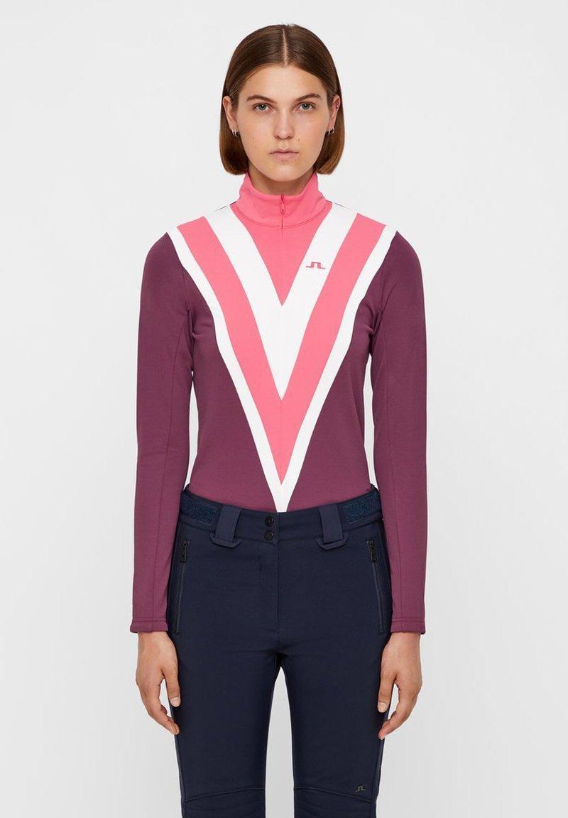J.LINDEBERG - Fleece jumper - pink