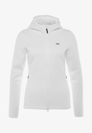 LOA HOOD TECH - Sweatjacke - white