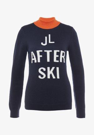 KAYLA COOLMAX - Stickad tröja - navy