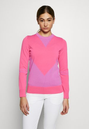 Jumper - pop pink