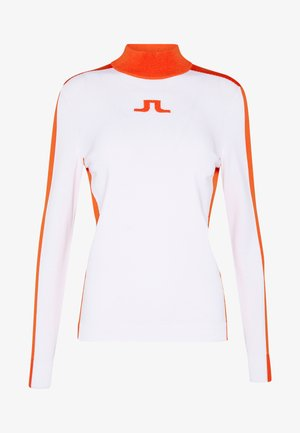 ADIA - Stickad tröja - white