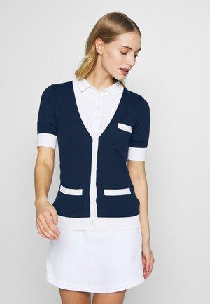 VIOLA - Zip-up hoodie - navy
