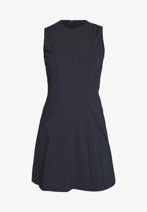 JASMIN LUX SCULPT - Žerzejové šaty - navy