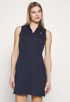 ELSA SET - Žerzejové šaty - navy