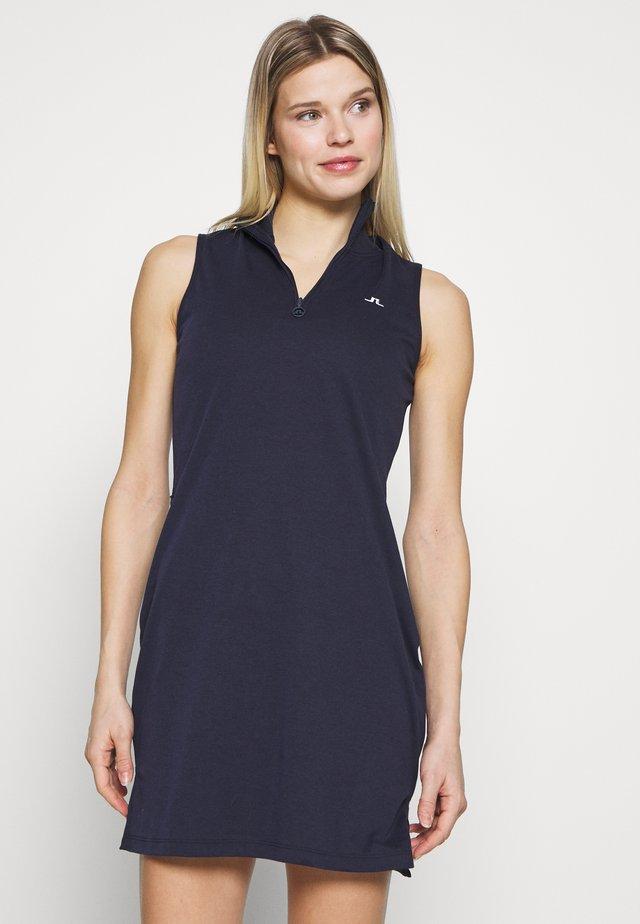 ELSA SET - Jersey dress - navy
