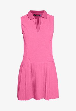 CORA - Sportovní šaty - pop pink