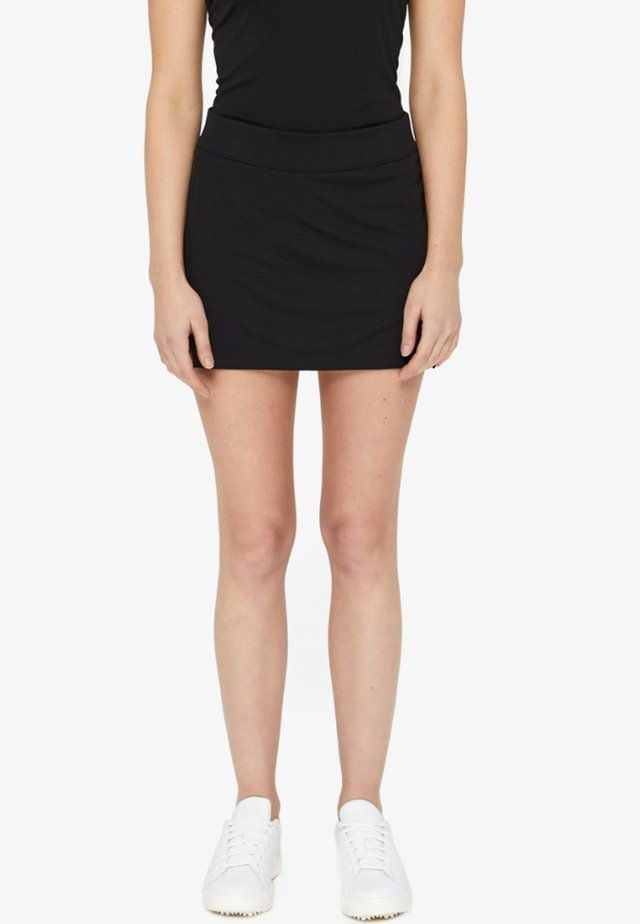 AMELIE - Sports skirt - black