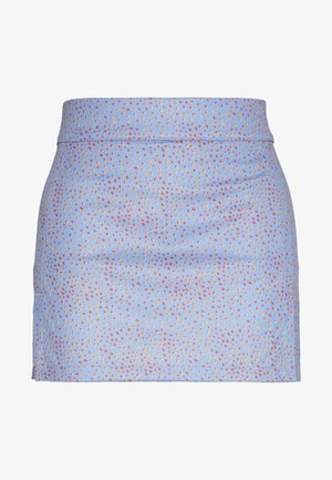 AMELIE PRINT - Sports skirt - lake blue